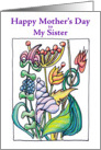 Mother's Day Blooming Bounty - Sister card