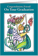 GRADUATION GARDENS OF OPPORTUNITY — Friend card
