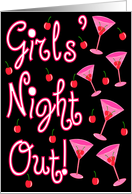 Girls' Night Out! card