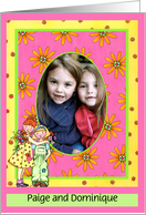 Sister's Day Photo Insert Card