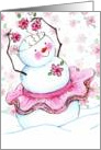 Dance Of The Snow Queen card