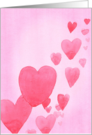 Many Hearts Valentine's Day Card