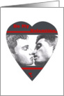 Be My Valentine - Gay card