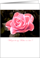 Will you be my mother-in-law ? - flowers card