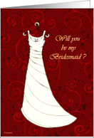 Please be my Bridesmaid. card