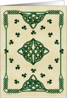 Celtic/ St. Patrick's Day Wishes card