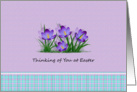 Thinking of You - Easter card