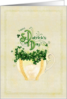 St. Patrick's Cup Of Cheer card