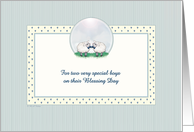 Blessing Ceremony - Boys card