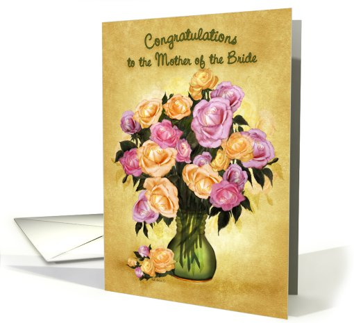 Mother of The Bride card (480076)