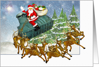 Tanks for The Business - Christmas card