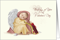 Thinking of You Cupid Valentine card