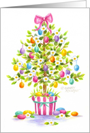 Friend Easter Egg Tree card