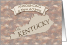 New Address in Kentucky card