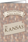 New Address in Kansas card