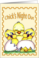 Chick's Night Out card