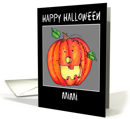 Happy Halloween card (268674)