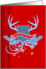 Christmas Heraldry card