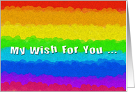 My Wish For You card