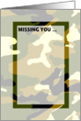 Missing You - Blank Card
