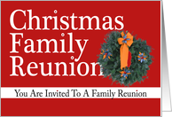 Christmas Family Reunion! card