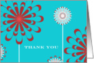 Thank you, Employee Appreciation card, flowers card