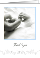 thank you and congratulations on the birth of our grandson card
