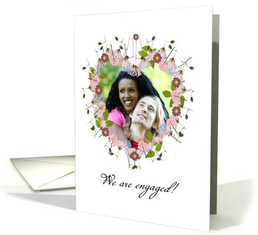 your are invited, engagement party, photo card, little... (929031)
