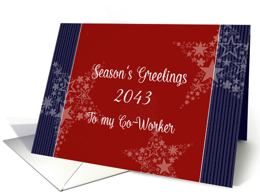 To a valued co-worker, Season's Greetings, Customize Year,... (948898)