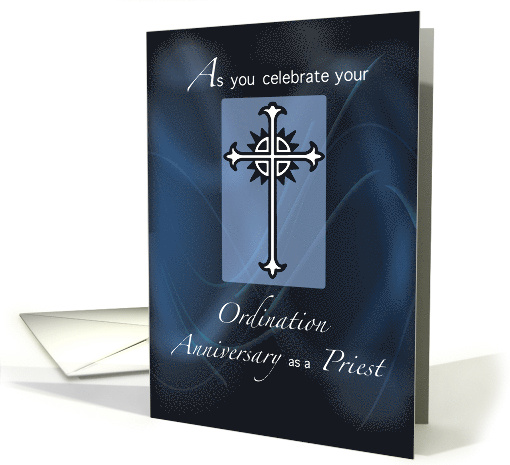 Ordination Anniversary of Priest card (1098420)