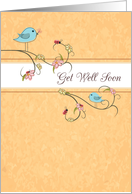 Get Well Birds, Religious card