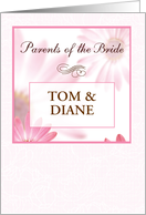 Parents of the Bride, Custom Names card