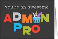 Awesome Admin Pro on Admin Pro Day card
