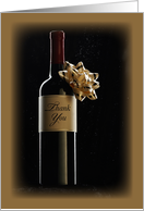 Business Thank You Wine Gift card