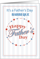 BARBEQUE Invitation Father's Day for All the Dads, Baseball card