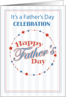 Invitation Father's Day Celebration for All Dads card