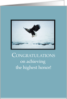 Eagle Scout Congratulations Top of Clouds card