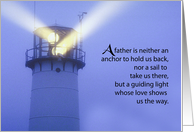 Lighthouse Father's Day, Guiding Light card