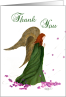 Angel Thank You card
