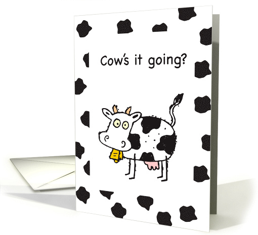 Thinking of You, Cow card (670271)