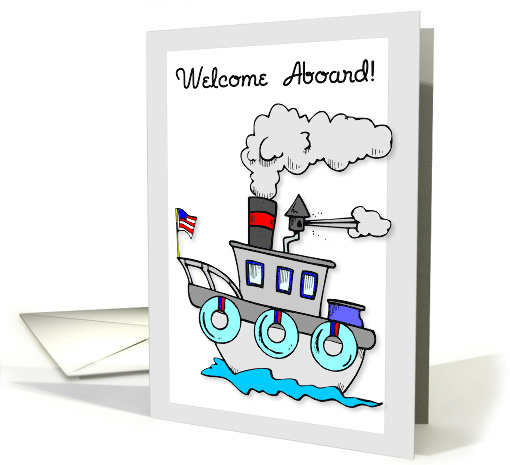 New Employee, Welcome Aboard to the Team card (671301)
