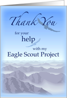 Thanks Eagle Scout Project, Sky, Thank You card