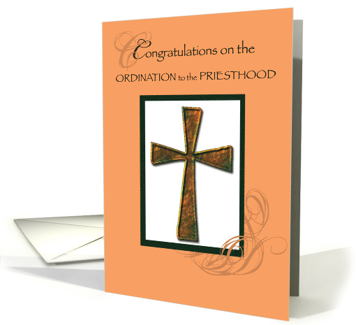 Priest Ordination Ordination Christian Ordained card (822686)