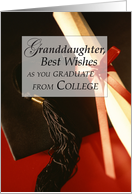 Granddaughter, Graduation from College card