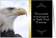 Customize Eagle Scout Award Recognition Invitation card