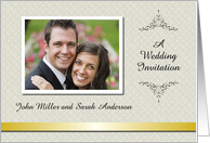 Custom Wedding Invitation - Photo Card