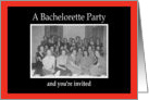 Bachelorette Party Girls card