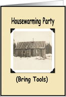 HouseWarming Invite - Funny card
