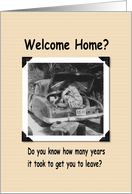 Welcome Home - Perhaps card