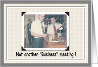 Business Meeting card